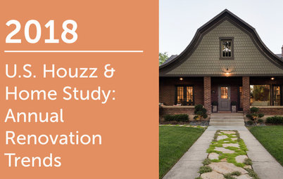 2018 U.S. Houzz & Home Study: Renovation Trends