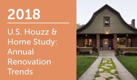 2018 U.S. Houzz & Home Study: Renovation Trends