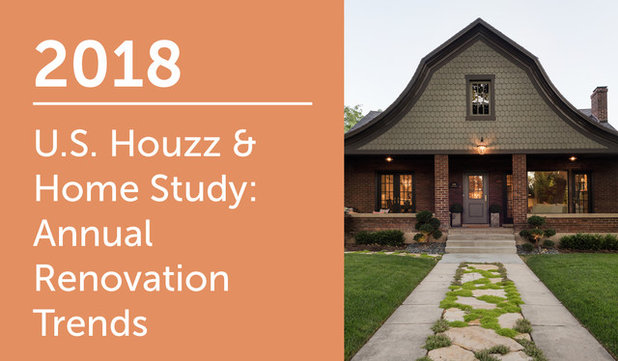 2018 Houzz & Home Study: Renovation Trends
