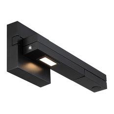 Flip LED Right Swing Arm 3000K, Black