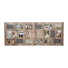 """18"""" Opening """"Sunshine"""" Collage Wall Frame"""