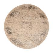 Safavieh Vintage Collection VTG113 Rug, Warm Beige, 6' Round