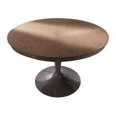 "Elise Round Dining Table, Extendable, 46""x46""/64"""