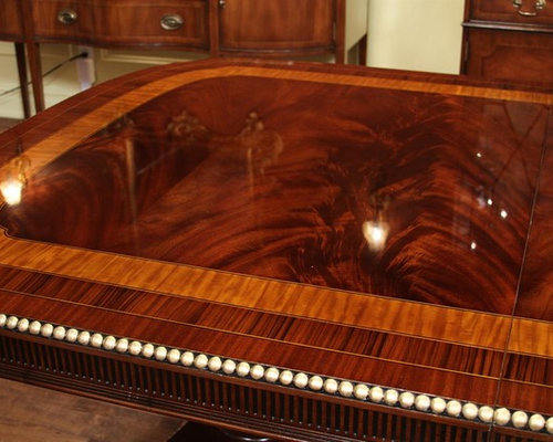 Robust American Empire Or Regency Style Dining Table HASBT