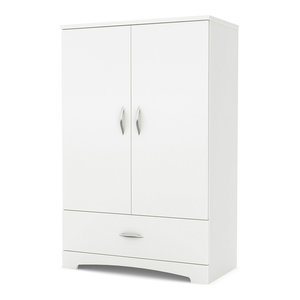 South Shore Step One Armoire - Contemporary - Armoires And ...