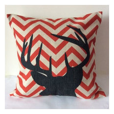 Deer Head Cushions