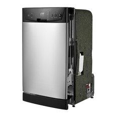 "SPT Appliance Inc. - 18"" Built-In Dishwasher, Stainless Steel - Dishwashers"