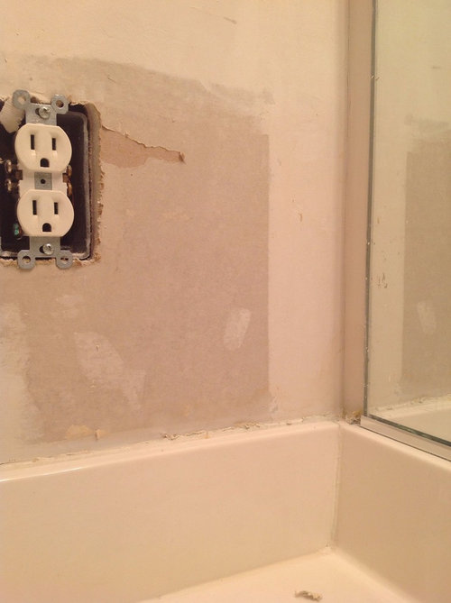 First time diy bathroom renovation drywall caulk problems - Renovating a bathroom what to do first ...