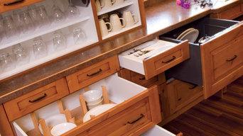 Universal Design Kitchen by Sawhill Custom Kitchens & Design