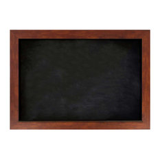 """Chalkboards 48""""x34"""", Honey Frame With Magnetic Chalkboard Surface"""