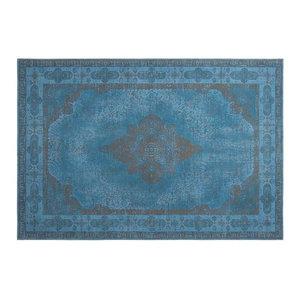 Retro Vintage Chenille Rug, Azur Blue 1, 160x240 cm