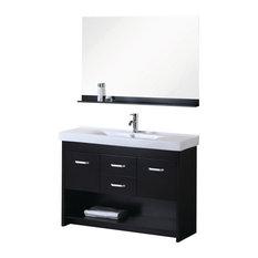 """47.5"""" Modern Single Sink Bathroom Vanity"""
