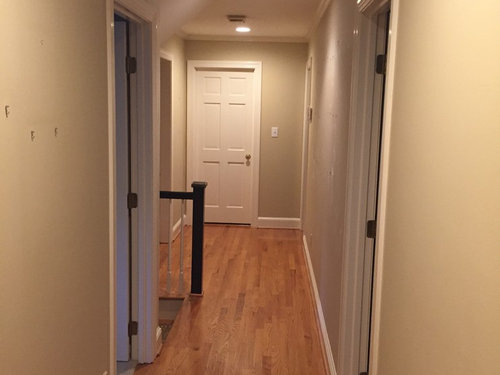 Long Hallway Should I Paint The Ceiling And Walls The Same Color