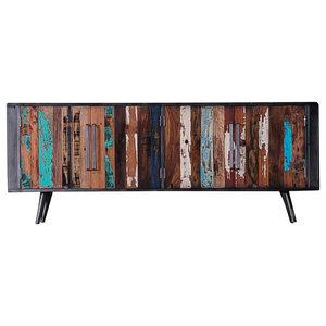 Capsize Nordic 4-Door TV Dresser