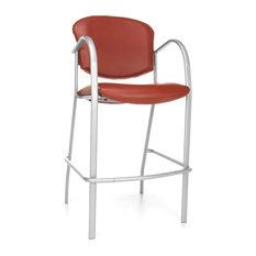 Danbelle Vinyl Cafe Chair, Wine