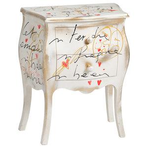 Renoir Bedside Table, White