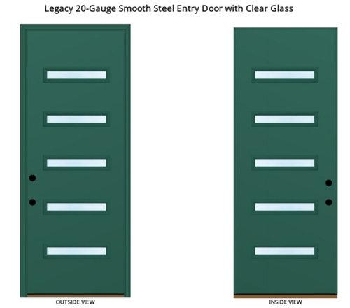 Painted Fiberglass Vs Painted Steel Entry Door Maintenance