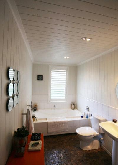 Houzz tour step by step additions enhance a tauranga gem for Bathroom design tauranga