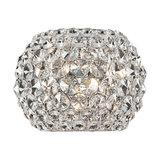 Visconte Astra 3-Light Diamante Wall Light, Chrome