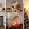 1 Mantel Done 3 Ways for the Holidays