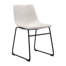 HomeRoots Furniture Smart Dining Chair Distressed White