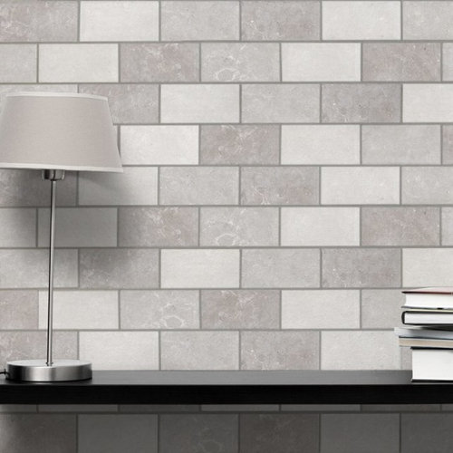 Grey Brick Tiles Flat Metro Tiles For Bathrooms Amp Kitchens