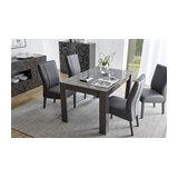 Prisma (grey) extending dining table