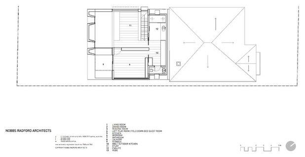 Contemporain Plan au Sol by Nobbs Radford Architects