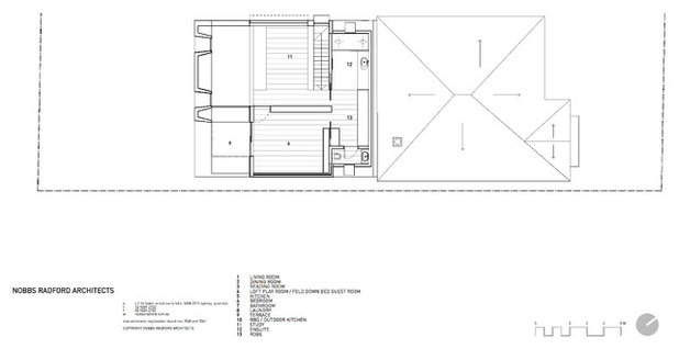 Contemporary Floor Plan by Nobbs Radford Architects