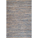 nuLOOM - Jute and Denim Crosshatch Area Rug, Natural, 3'x5' - Made from the finest materials in the world and with the uttermost care, our rugs are a great addition to your home. Features Style: Natural Fibers, Jute & Sisal Material: 60% Cotton, 40% Jute Flatweave Origin: India Note: All rug sizes are approximate. Due to the difference of monitor colors, some rug colors may vary slightly. We try to represent all rug colors accurately.