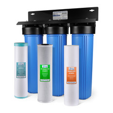 "iSpring 3-Stage 20"" Water Filtration System, Iron  Manganese Reducing"