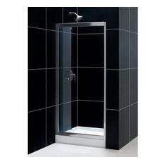 "Dreamline DL-6213C-01CL Butterfly Shower Door and 32""x32"" Shower Base"