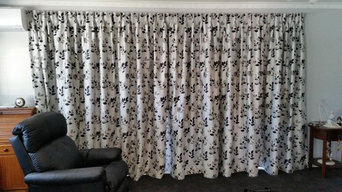 Curtain in Christchurch renovation