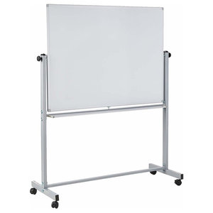 "Offex 48""x36"" Double Sided Magnetic Whiteboard, 1 Pack"