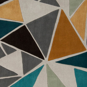 Well Woven Mystic Maddox Modern Vintage Geometric Blue Mc 274 Area Rug Contemporary Area Rugs By Well Woven Houzz