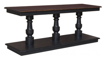 Cottage Console Table, Woodlands Stain