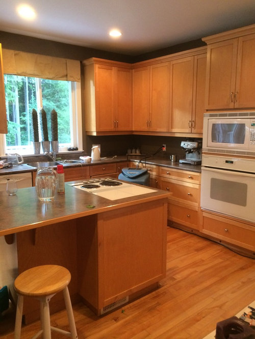 Kitchen Paint Solid Maple Cabinets