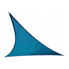 Gale Pacific USA Coolaroo Coolhaven Shade Sail Triangle, 12', Sapphire