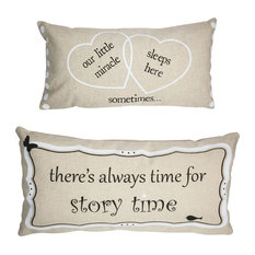New Baby Miracle Double Sided Nursery Pillow