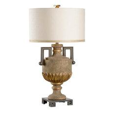 Table Lamp WILDWOOD LAMPS 1-Light Cream