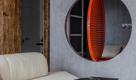 Проект недели: Спальня и гостиная в японском стиле