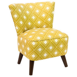 Midcentury Armchairs And Accent Chairs by Skyline Furniture Mfg Inc
