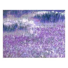 """Lavender Field"" by Paul Laoria, Giclee Canvas Wall Art, 24""x32"""