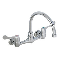 Delta Faucet   Delta Laundry 28P4902Lf Faucet Double Handle Wall Mount,  Chrome   Utility Sink