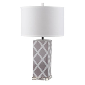 Safavieh Keira Table Lamps, Set of 2, Grey