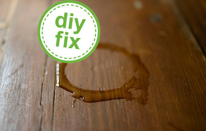 Quick Fix: Erase Water Rings from Furniture