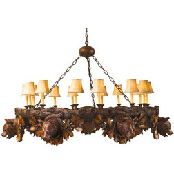Great Rustic Chandeliers by Lodgeandcabins