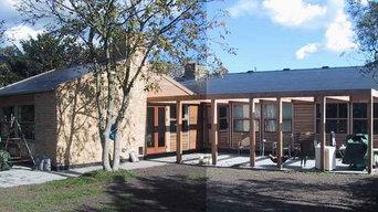 Villa Kunkel, om- og tilbygning af typehus fra 50'erne
