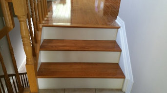 Two Side Closed Stair re-capping