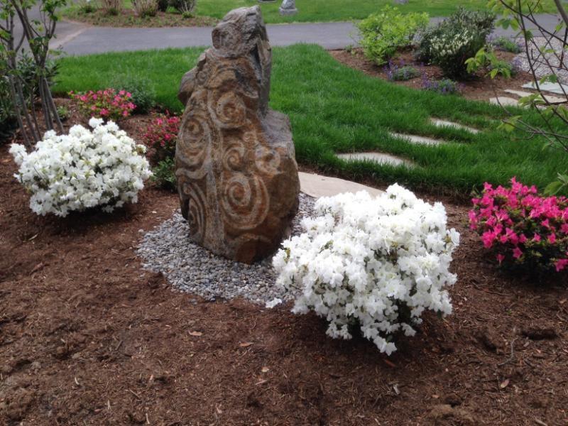 Historic Doylestown Cemetery-Artisan stone for Memorial Gardens
